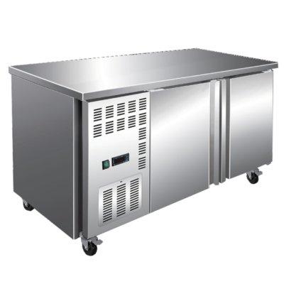 Stainless Steel Double Door Workbench Freezer – TL1500BT