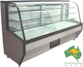 VIP Cake Food Display 1750mm – Refrigerated