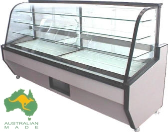 VIP CAKE DISPLAY CABINETS – PULL OUT DRAW 2400mm