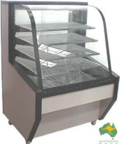 VIP Heated Display Cabinet – 930mm