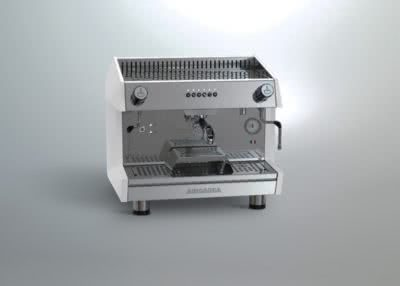 ARCADIA Professional Espresso coffee machine SS polish white 1 Group – ARCADIA-G1