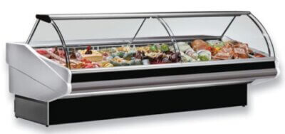 PAN2500 – CURVED FRONT GLASS DELI DISPLAY
