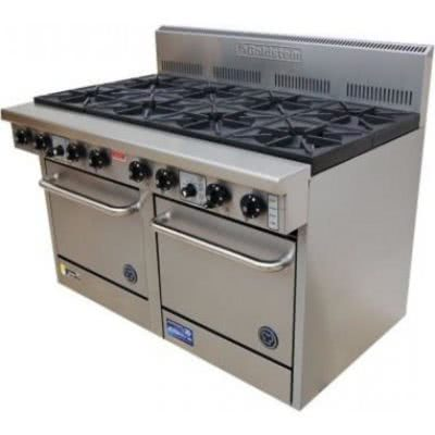Goldstein PF-10-2-28 Gas 10 Burner Double Oven