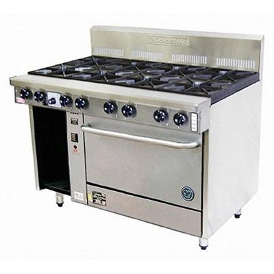Goldstein PF-8-28 – 8 Burner Gas Oven Range