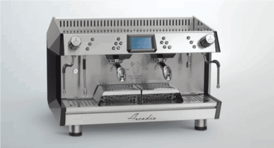 ARCADIA Professional Espresso coffee machine SS 2 Group PID with display – ARCADIA-G2DP