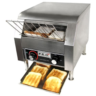 TT-300  Two Slice Conveyor Toaster – 2.4kW; 15A