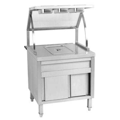 BS1A Single Pan Ambient Bain Marie Cabinet