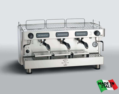 Bezzera Traditional 3 Group Espresso Coffee Machine – BZB2013S3E