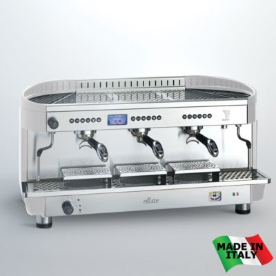 BZE2011S3EPID Bezzera Modern 3 Group Ellisse Espresso Coffee Machine