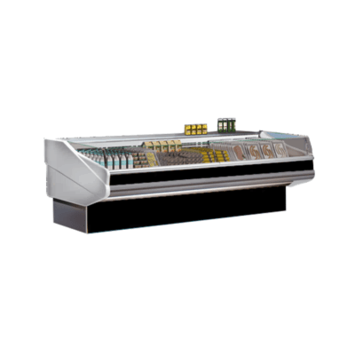 PAN2000SELF – CURVED FRONT GLASS DELI DISPLAY