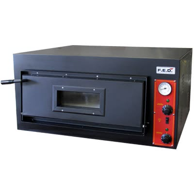EP-2-1 – Germany's Black Panther Pizza Deck Oven – 415V 3~N; 4.2kW; 5.9A