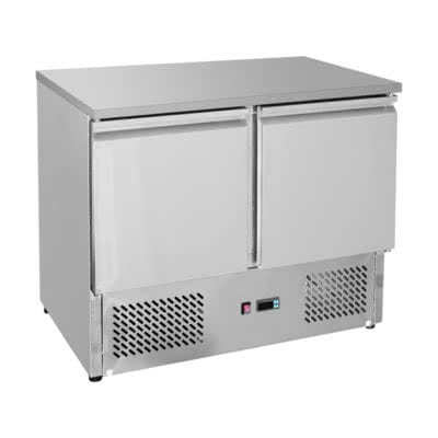 GNS900B Two Door Compact Workbench Fridge