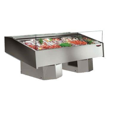 Multiplexable Serve-over Refrigerated Fish Open Display – FSG2000