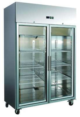 SN1000TNG Grand Ultra 2 Door Upright S/S Fridge 1000L