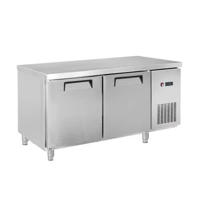 LDWB180F Two Large Door Stainless Steel Workbench Freezer