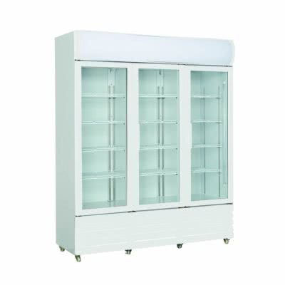 Three Glass Door Colourbond Upright Drink Fridge – LG-1203GE