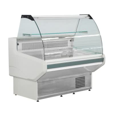 NSS1800 Bonvue Curved Deli Display