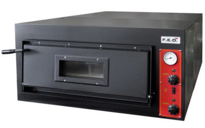 EP-1-1 – Deep Model – Germany's Black Panther Pizza Deck Oven – 415V; 7.2kW; 10A