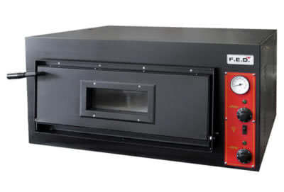 EP-1-1-SD Germany's Black Panther Pizza Deck Oven – 415V 3~N; 7.2kW; 10A