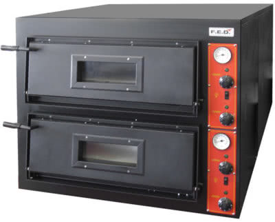 EP-1 – Deep Model – Germany's Black Panther Pizza Deck Oven – 415V; 3~N; 10kW; 24A