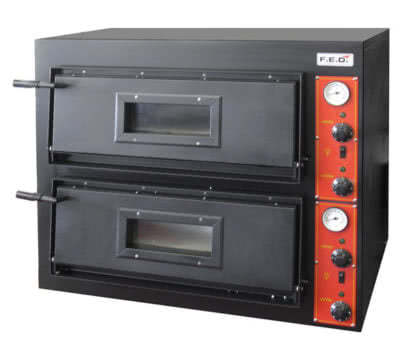 EP-1-SD – Germany's Black Panther Pizza Deck Oven – 415V; 3~N; 14.4kW; 28.8A