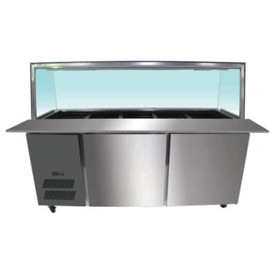 PG150FA-YG Chilled Bain Marie 4×1/1 GN Pans