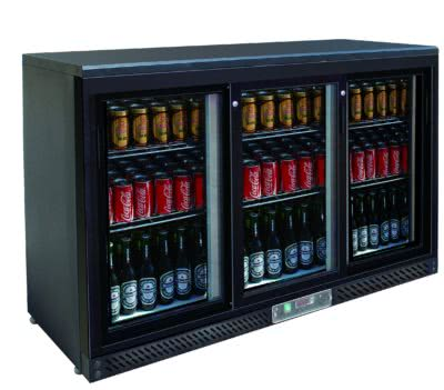 Three sliding door bar cooler – SC316SD