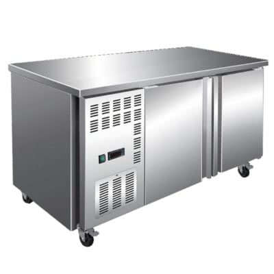 Stainless Steel Double Door Workbench Freezer – TL1200BT
