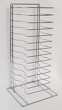 15 Tier Pizza Tray Rack – Max 15″ Tray Size