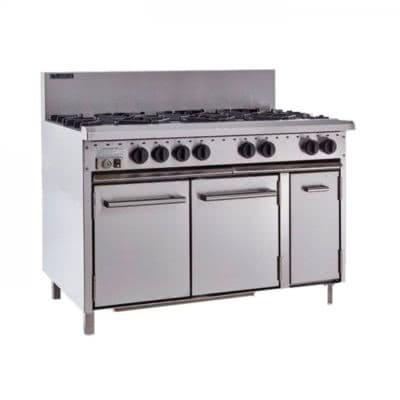 Luus 8 Burner Gas Oven Range CRO-8B
