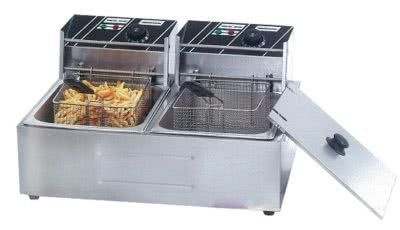 Double Tank Electric Fryer TEF-82KW – 2 x 15amp