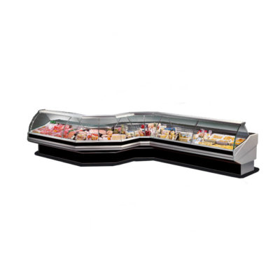 Coner External Glass – CURVED FRONT GLASS DELI DISPLAY – CN90E