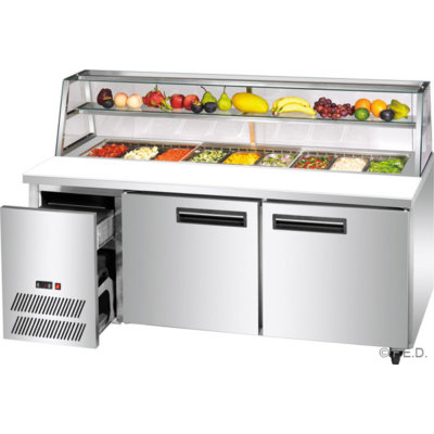 SCB/21 three door DELUXE Sandwich Bar