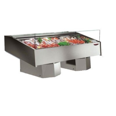 Multiplexable Serve-over Refrigerated Fish Open Display 1540mm – FSG1500
