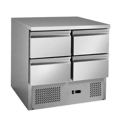 4 drawers S/S benchtop fridge – GNS900-4D