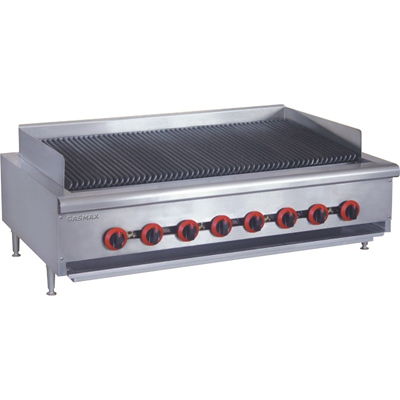 QR-48E Natural Gas 8 Burner Char Grill Top