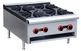 RB-4E Gas Cook top 4 burner
