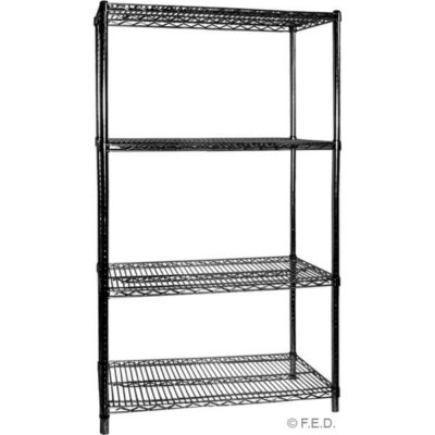 B24/72 Four Tier Shelving – 610 mm deep x 1880 high x 1830 width