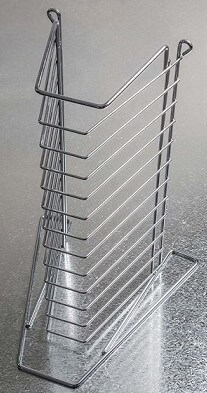 12 Tier Pizza Tray Rack – Heavy Duty – Max 16″ Tray Size