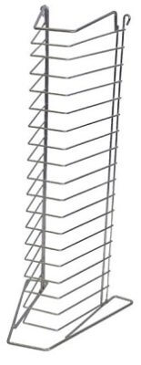 18 Tier Heavy Duty Pizza Tray Stand Rack