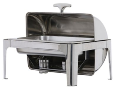 KH Full Size Roll Top Chafer Stainless Steel