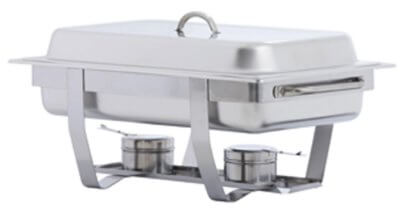 KH Full Size Stackable Chafer Stainless Steel