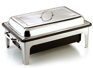 Sunnex® Chafer Full Electric Polished 1 X Full Size 65mm Pan