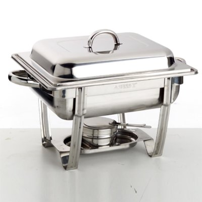 Sunnex® Chafer Half Stackable Polished 1 X Half Size 65mm Pan