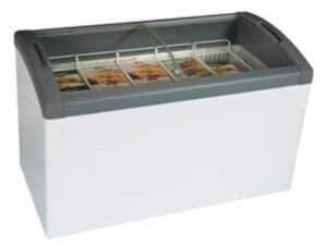 Curved Top Display Freezer – 254 Litres