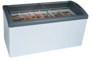 Curved Top Display Freezer – 302 Litres