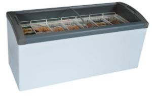 Curved Top Display Freezer – 351 Litres