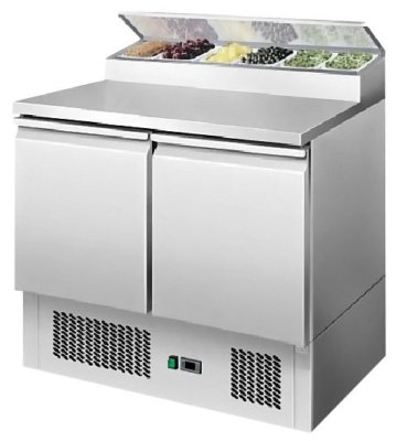 Atosa 2 Doors Open Top Saladette W900 mm