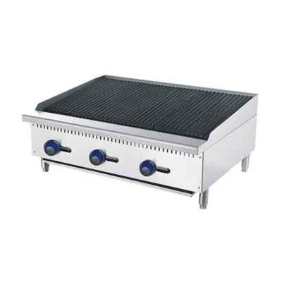 CookRite 910mm Char-Rock Broiler W910 x D700 x H385