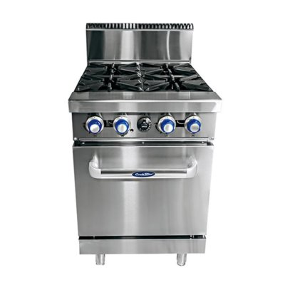 CookRite 4 Burner with Oven W610 x D790 x H1165